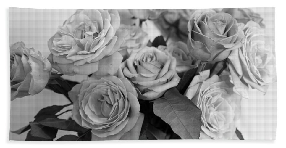 Flowers Beach Towel featuring the photograph Quiet Valentine by Amanda Barcon