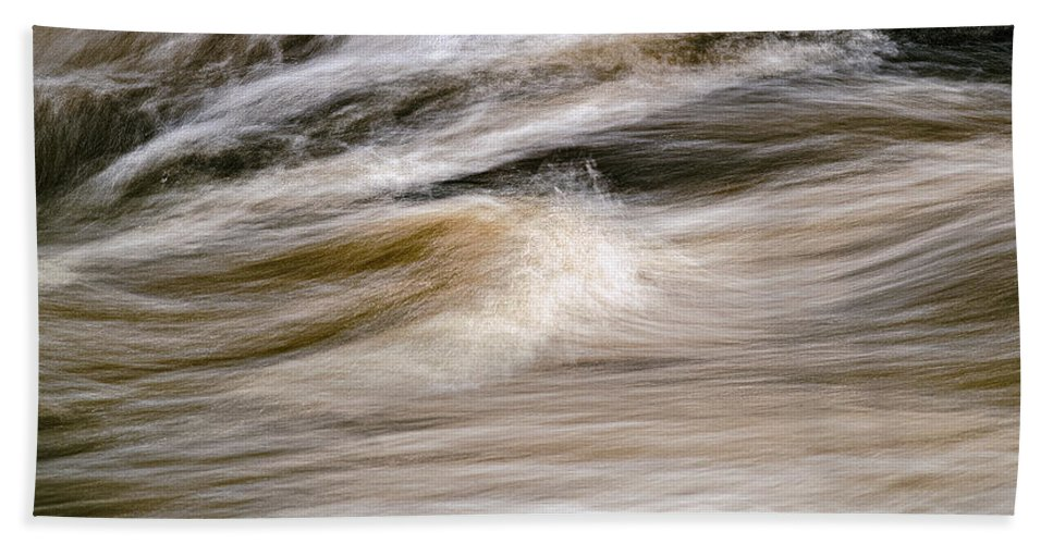 Rapids Beach Towel featuring the photograph Rapids by Marty Saccone