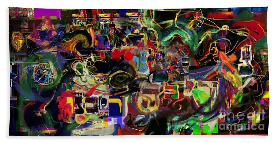 Beach Towel featuring the digital art Redemption Prayer 14 U by David Baruch Wolk