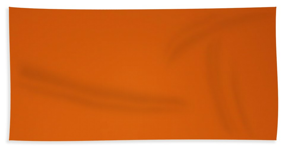 Orange Beach Towel featuring the photograph Relaxation by Heike Hultsch