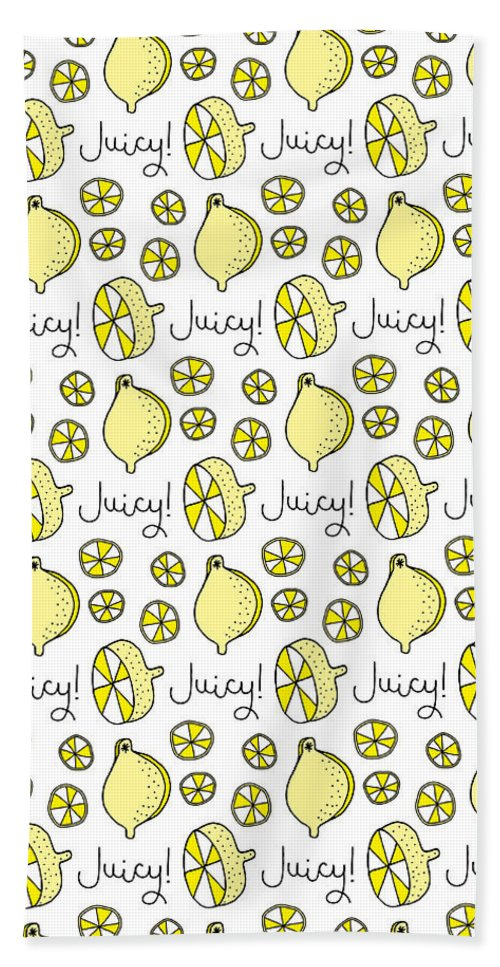 Susan Claire Beach Towel featuring the photograph Repeat Prtin - Juicy Lemon by MGL Meiklejohn Graphics Licensing