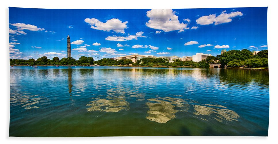 Washington Dc Beach Towel featuring the photograph Resolute by Jonah Anderson