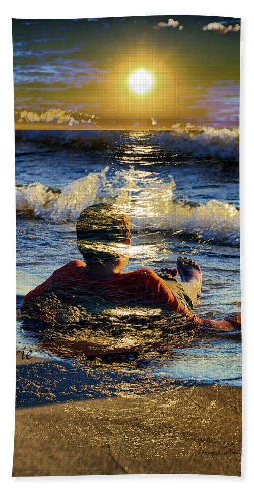 Day Dreaming Beach Towel featuring the photograph Reverie by Thomas Woolworth