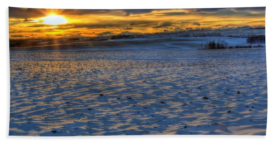 Ripple Beach Towel featuring the photograph Ripple Effect by James Anderson