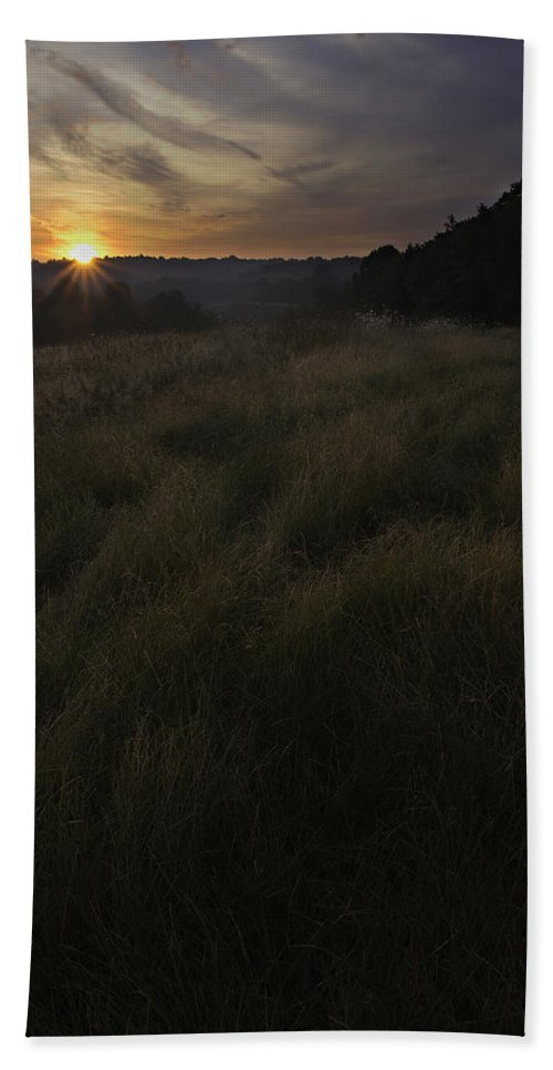 Sunrise Beach Towel featuring the photograph Rising Over The Hills by Dale Kincaid