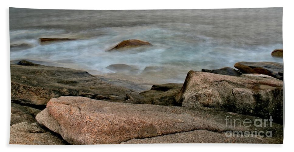 Rockport Beach Towel featuring the photograph Rockport Beach by Kenny Glotfelty