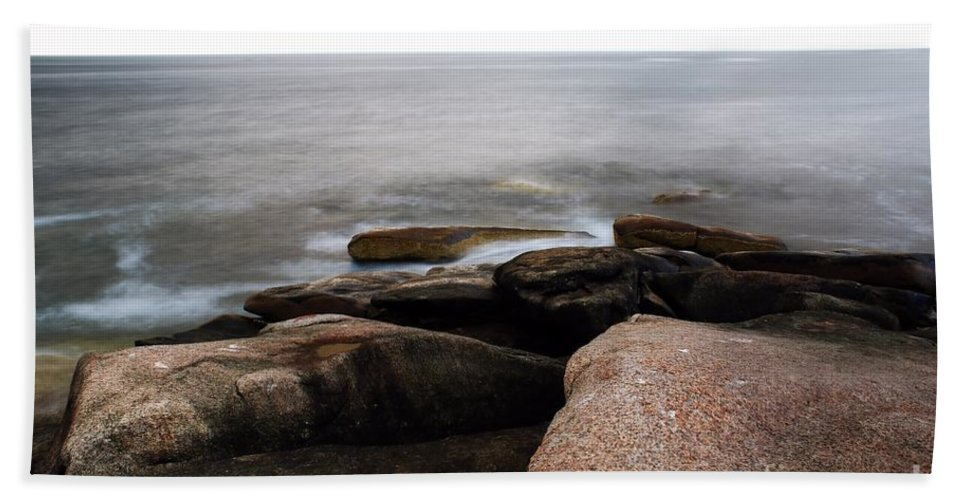 Rockport Beach Towel featuring the photograph Rockport Point by Kenny Glotfelty