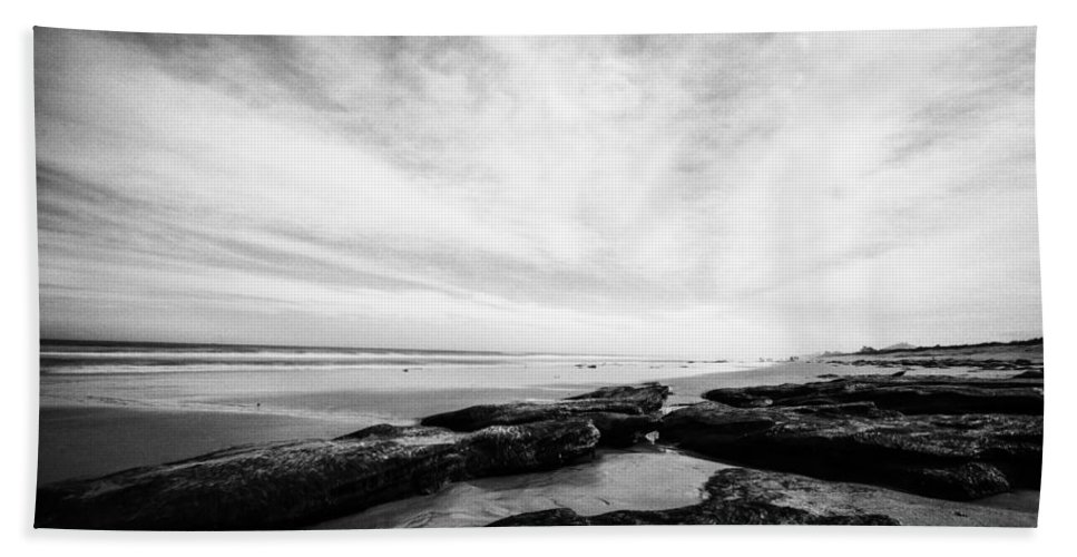 Atlantic Ocean Beach Towel featuring the photograph Rocky Beach by Stefan Mazzola