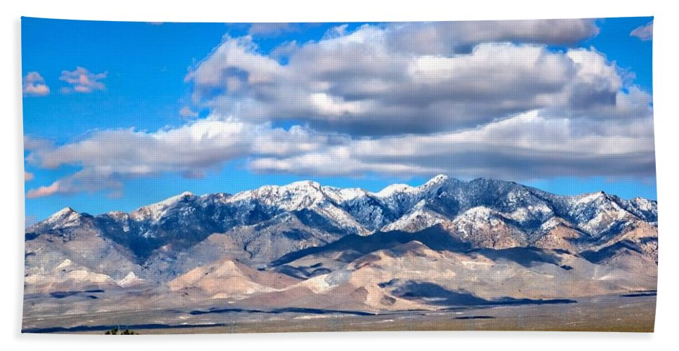 Rocky Mountains Beach Towel featuring the photograph Rocky Mountains by Bob Pardue