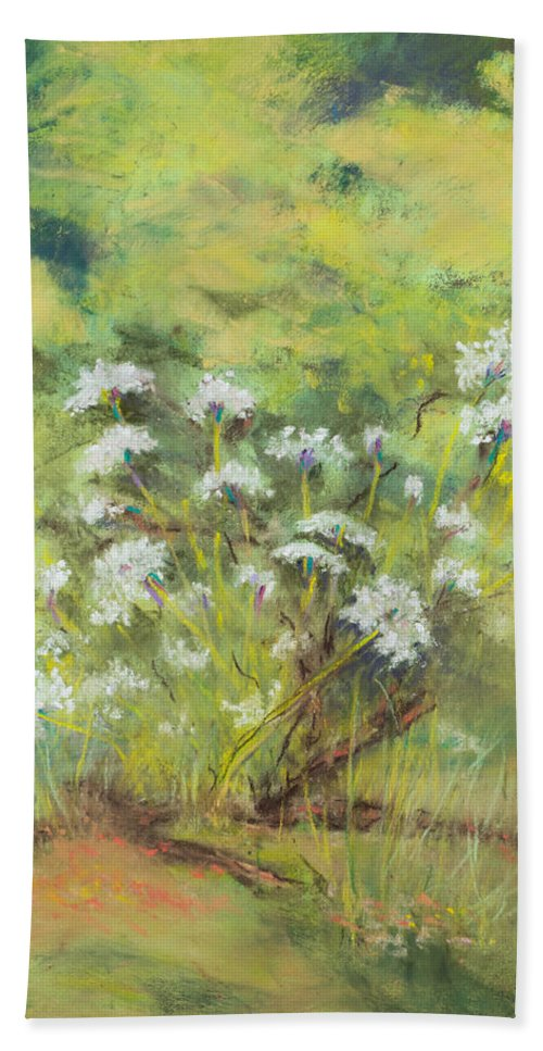 Pastel Beach Towel featuring the painting Royalty by Lee Beuther