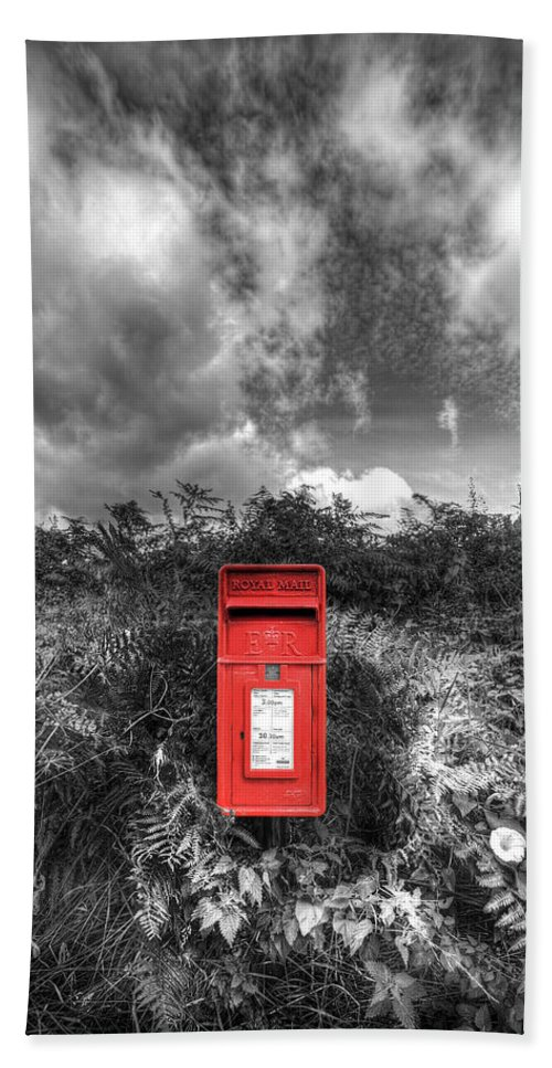 Mail Beach Towel featuring the photograph Rural Post Box by Mal Bray
