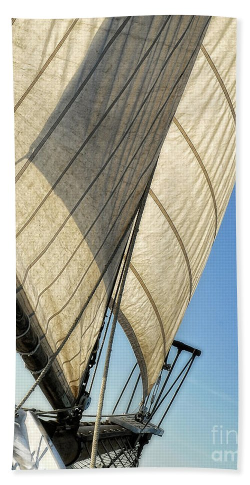 Sail Beach Towel featuring the photograph Sailing by Claudia Kuhn