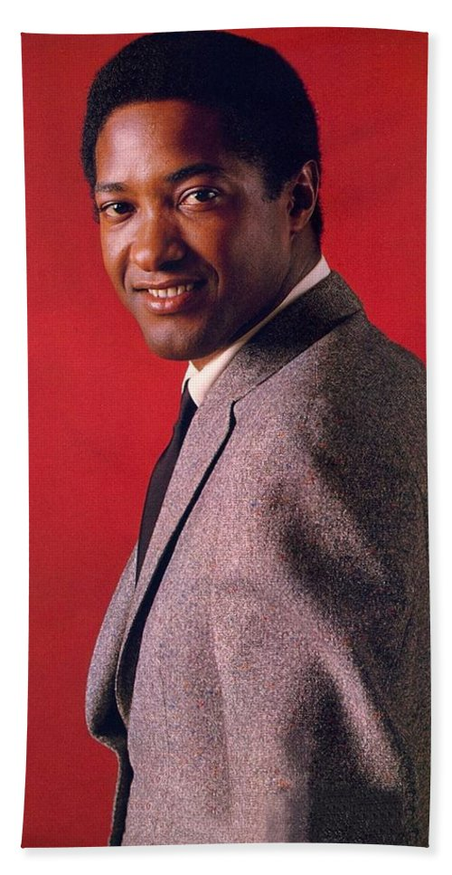 Sam Cook Beach Towel featuring the photograph Sam Cooke by Movie Poster Prints