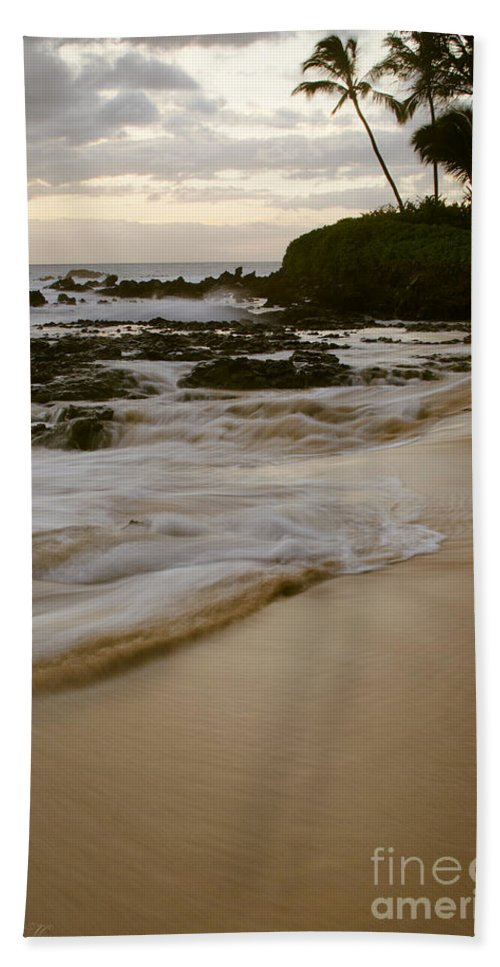 Aloha Beach Towel featuring the photograph Sanctuary by Sharon Mau