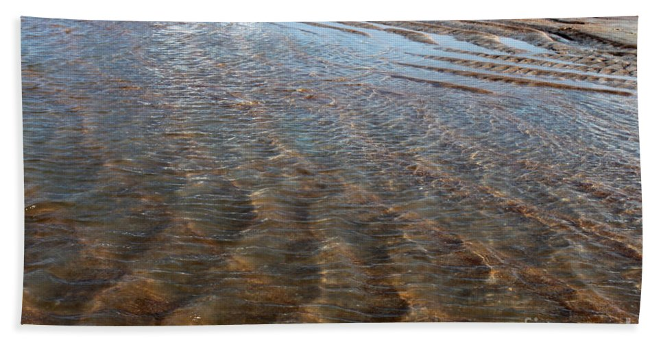 Landscape Beach Towel featuring the photograph Sand Art No. 4 by Todd Blanchard