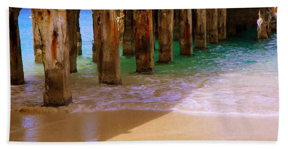 Beaches Beach Towel featuring the photograph Sands Of Time by Karen Wiles