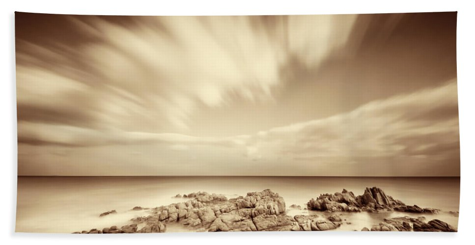 Sardinia Beach Towel featuring the photograph Sardinia - Costa Del Sud by Alexander Voss