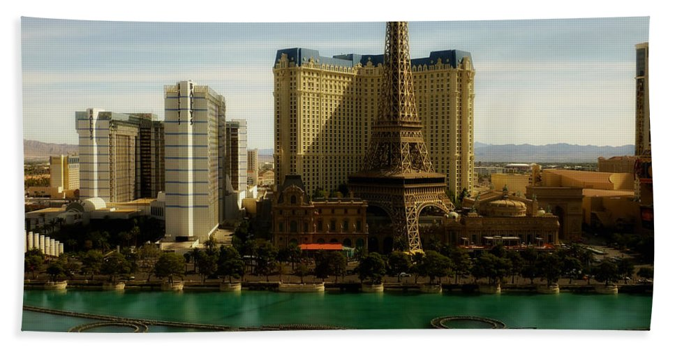 Sky Beach Towel featuring the photograph Scenes Of Las Vegas by Mountain Dreams