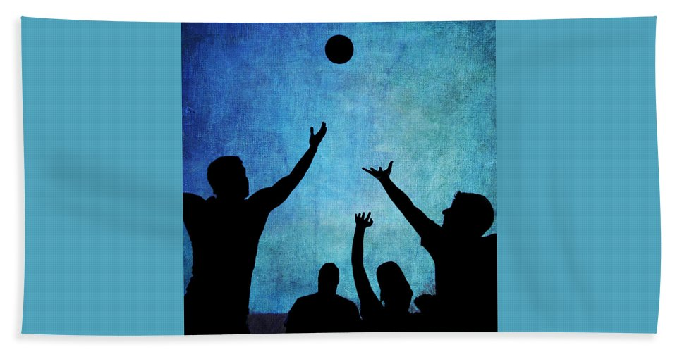 Basketball Beach Towel featuring the photograph Scoring by A New Focus Photography