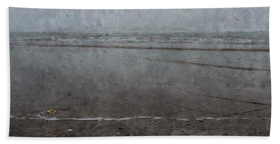 Seashore Beach Towel featuring the photograph Seashore by Annie Adkins