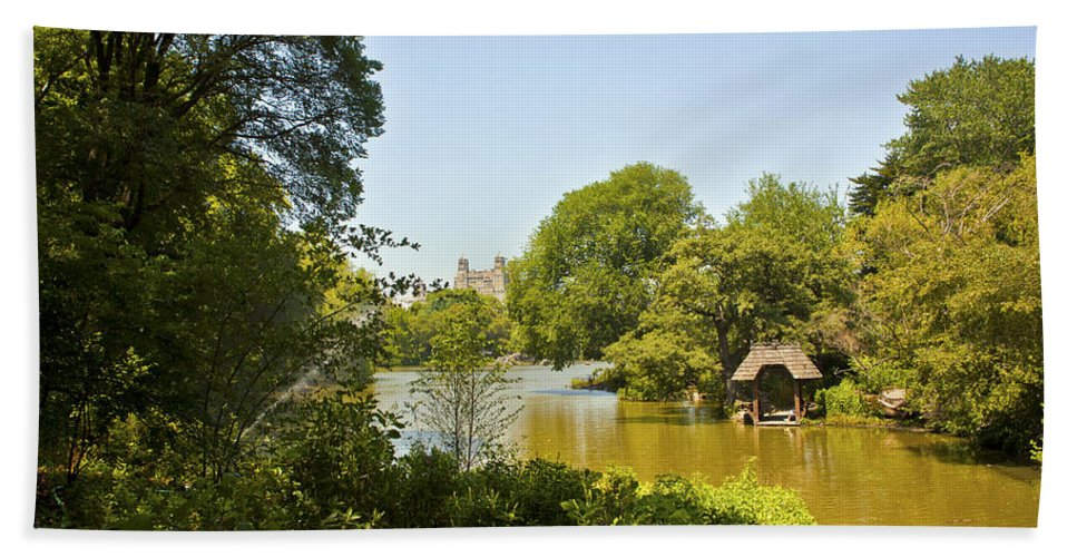 Pond Beach Towel featuring the photograph Serenity II by Madeline Ellis