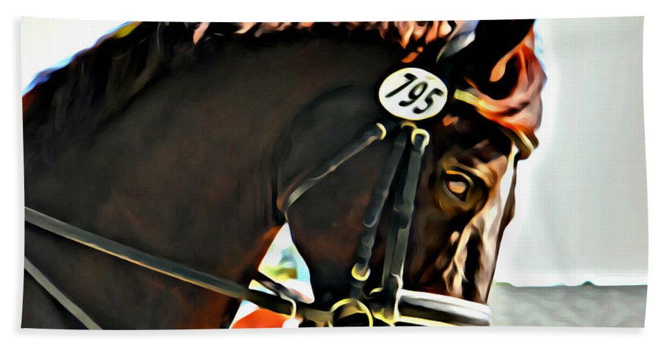 Horse Beach Towel featuring the photograph Seven Ninety Five by Alice Gipson