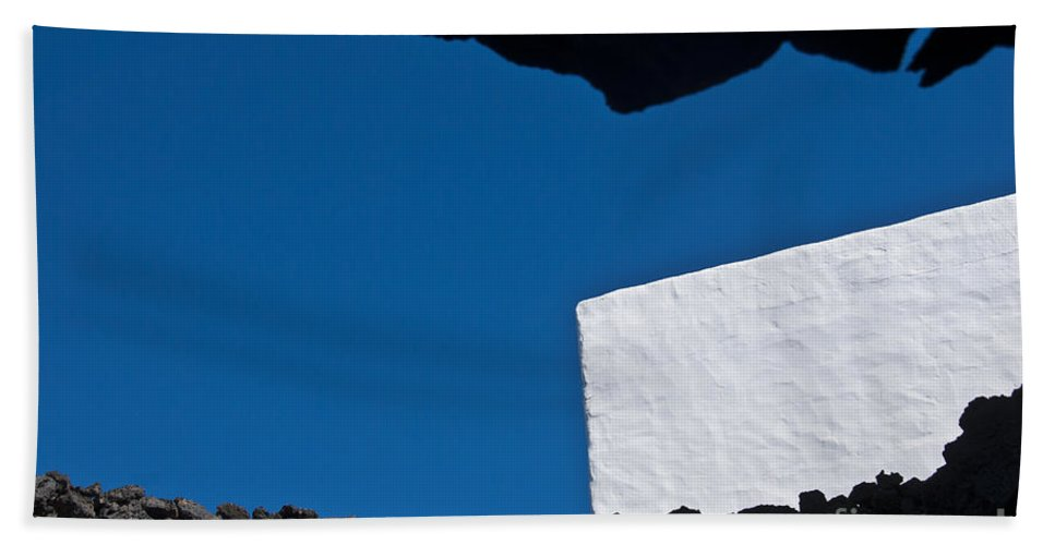 Shadows Beach Towel featuring the photograph Shadow Shapes Iv by James Lavott