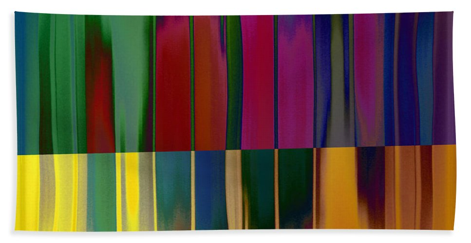 Beach Towel featuring the photograph Shadows In The Material World by David Pantuso