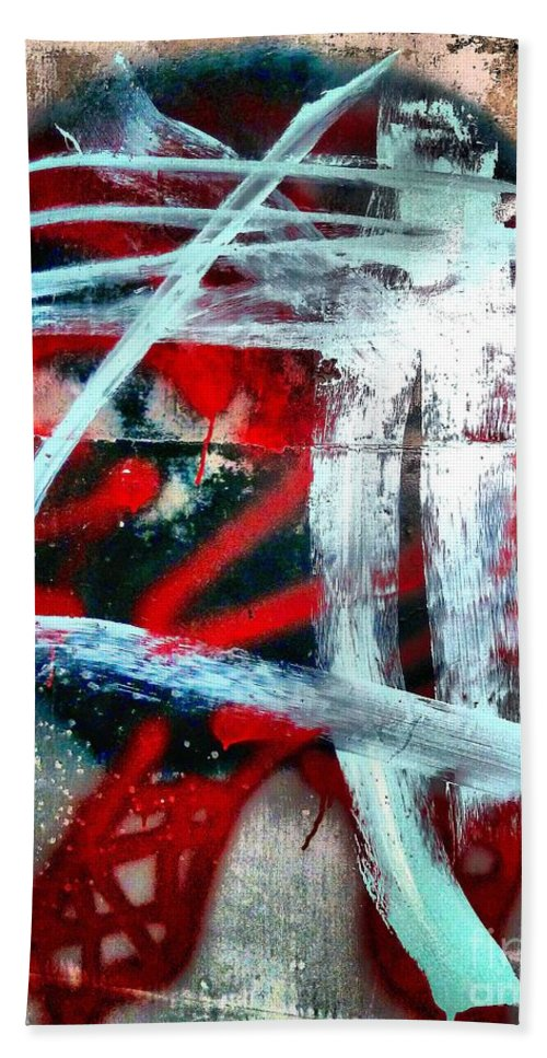 Abstract Beach Towel featuring the photograph Shanghaied 2 by Lauren Leigh Hunter Fine Art Photography