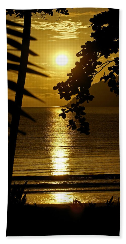 Landscapes Beach Sheet featuring the photograph Shimmer by Holly Kempe