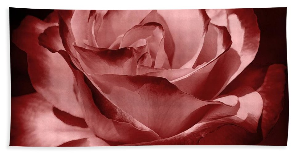 Rose Beach Towel featuring the photograph Silk by Athala Bruckner
