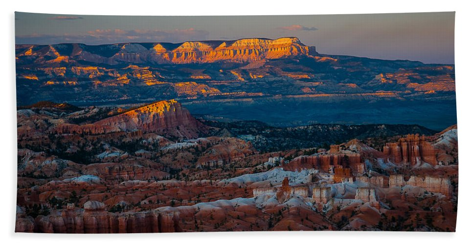 Bryce National Park Beach Towel featuring the photograph Sinking Ship by Joan Wallner