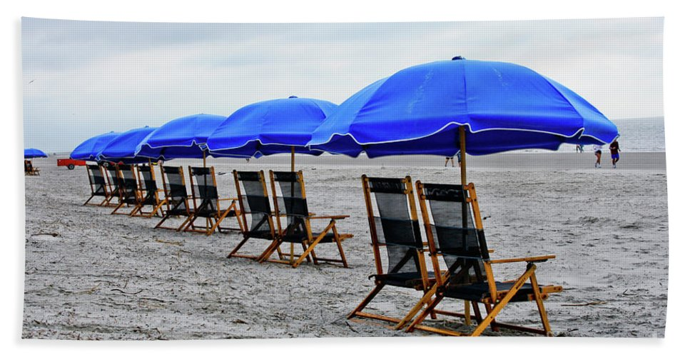 Beach Beach Towel featuring the photograph Slow Day At The Beach by Thomas Marchessault