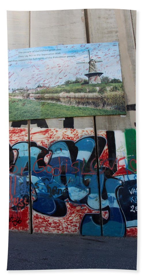 Love Beach Towel featuring the photograph Solidarity With Palestine by Munir Alawi