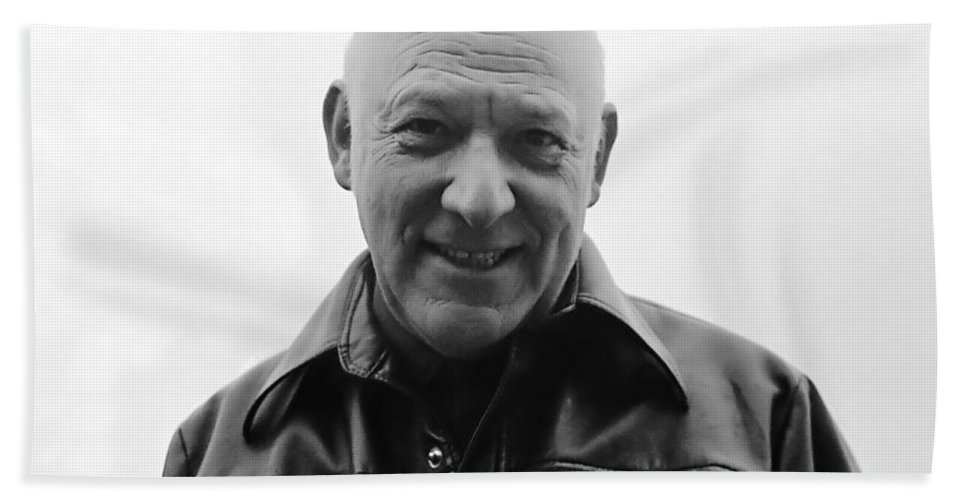 Portrait Beach Towel featuring the photograph Soul Of Honor by Rory Sagner