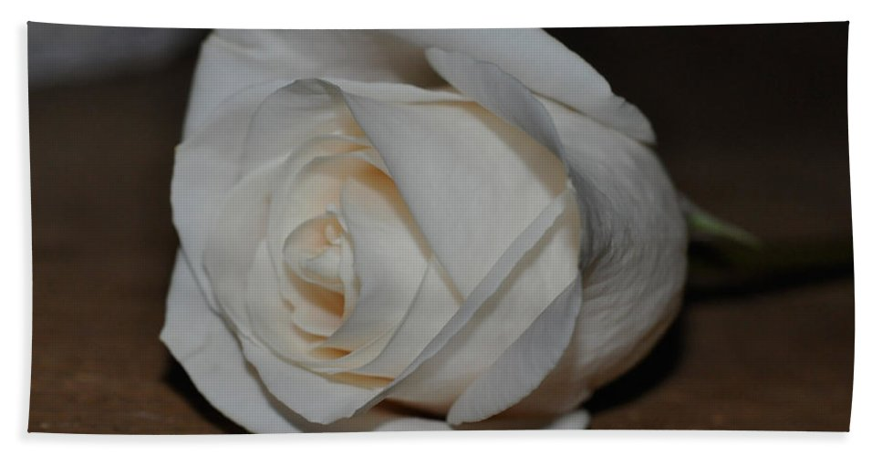 Rose Beach Towel featuring the photograph Soulful Beauty by Teri Schuster