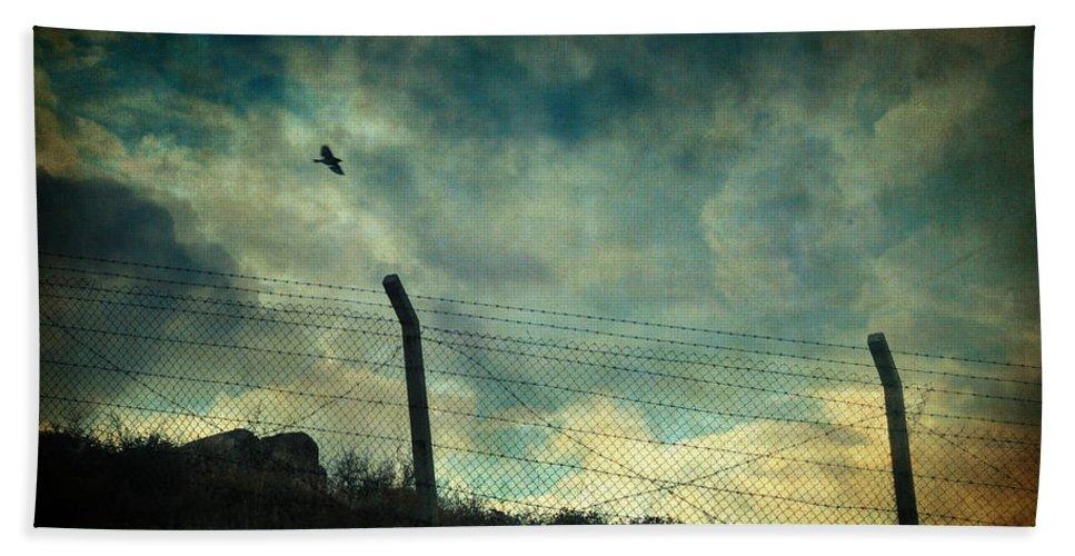 Landscape Beach Towel featuring the photograph Southwester by Zapista Zapista