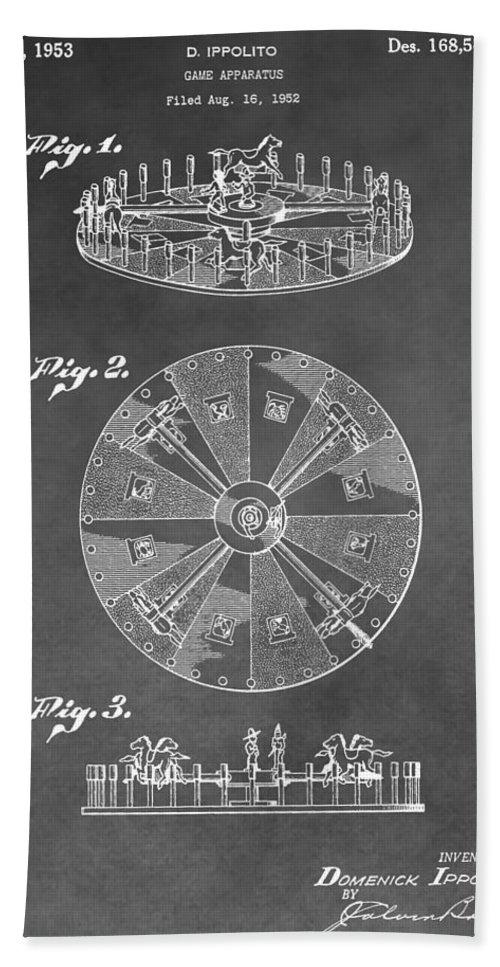 Spinning roulette apparatus craps felt full size