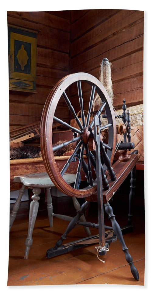 Finland Beach Towel featuring the photograph Spinning Wheel by Jouko Lehto