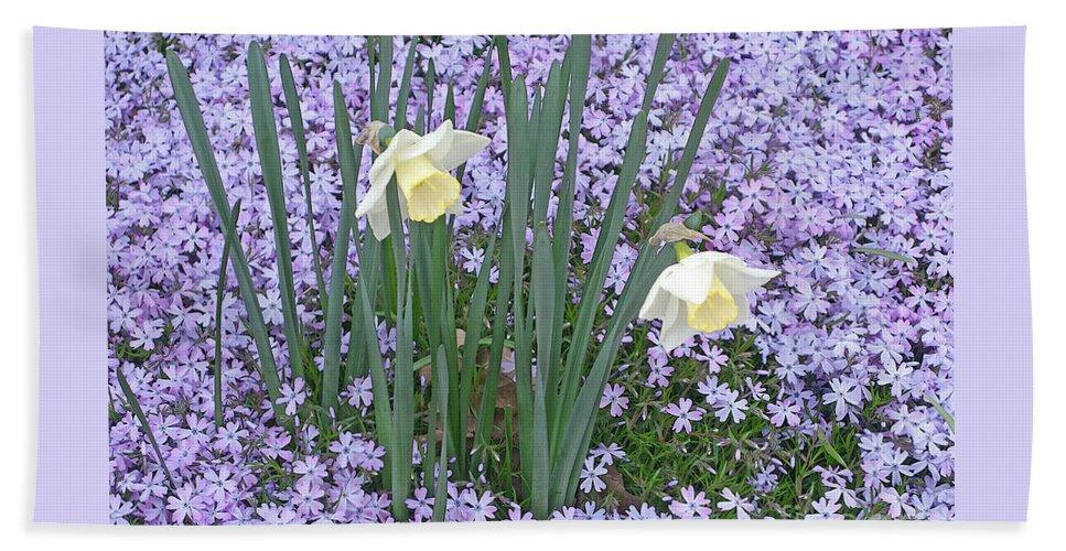 Spring Beach Towel featuring the photograph Springtime Beauties by Ann Horn