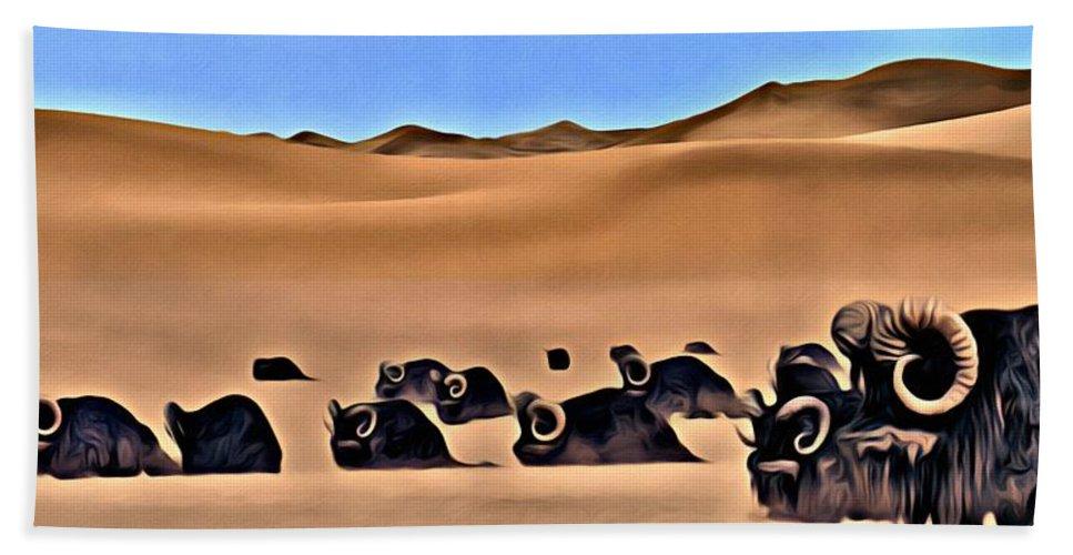 Star Wars Desert Animals Beach Sheet