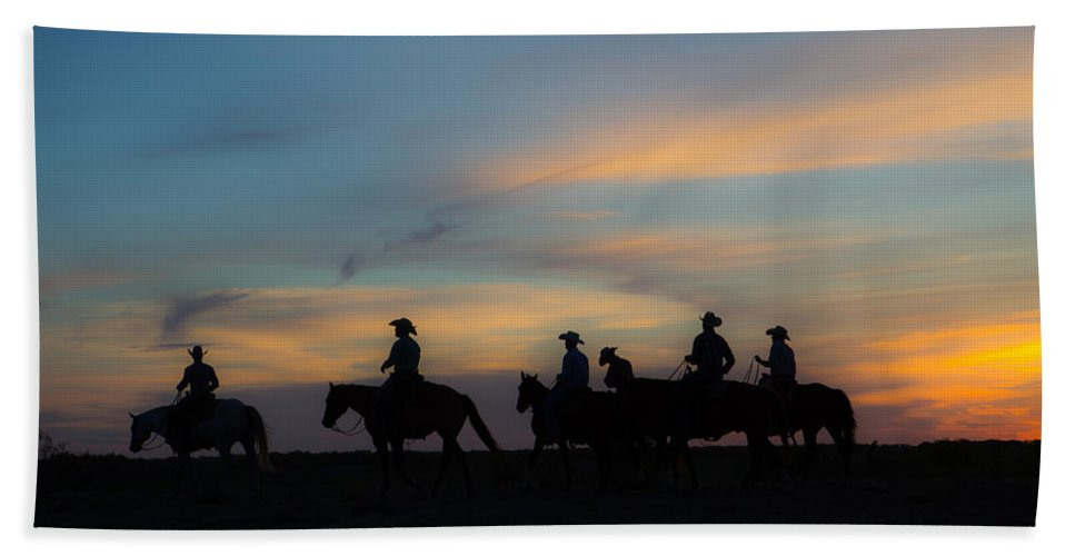 Ranch Beach Towel featuring the photograph Start Of A New Day by Kelli Brown