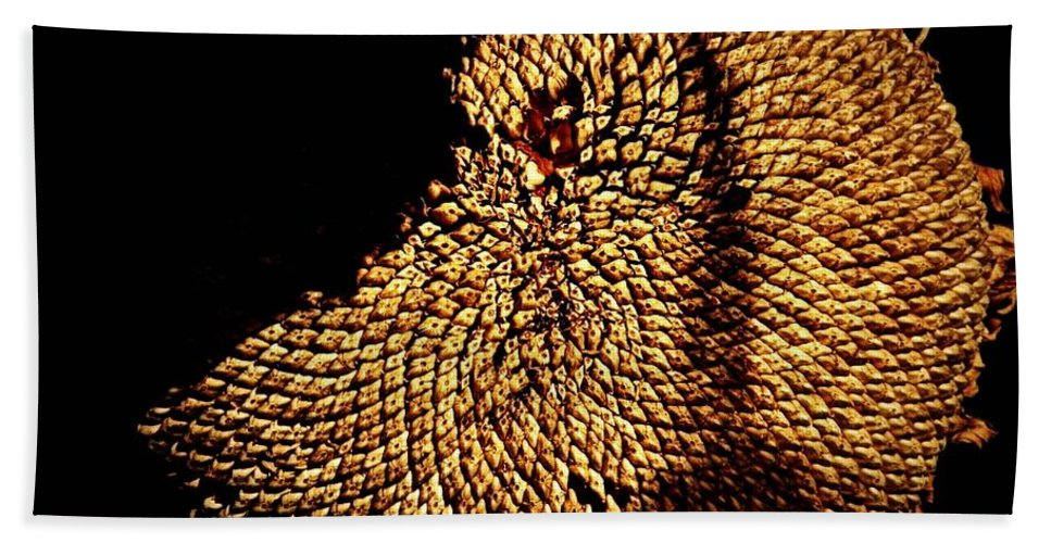 Nature Beach Towel featuring the photograph Stolen Seeds by Chris Berry