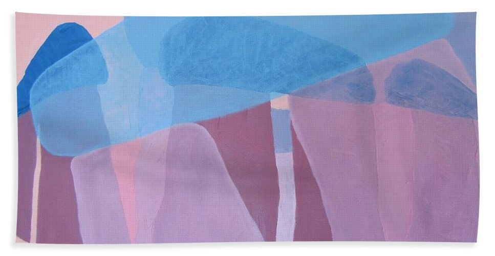 Stonehenge Beach Towel featuring the painting Stonehenge by Michael TMAD Finney AKA MTEE