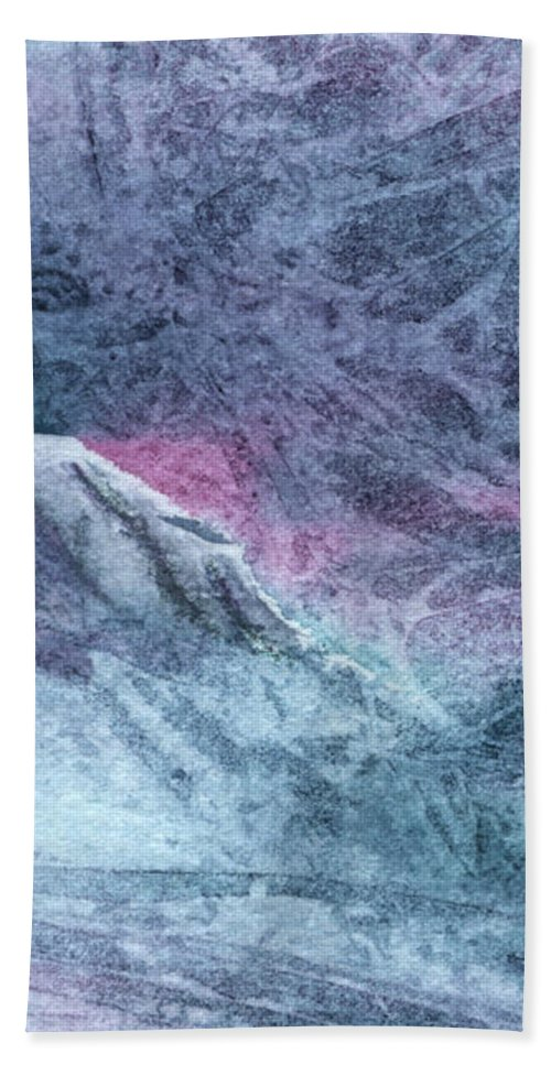 Storm Beach Towel featuring the painting Storm by Lynn Quinn