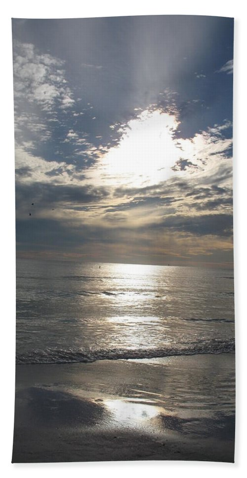 Sky Beach Towel featuring the photograph Stormy Sky by Christiane Schulze Art And Photography
