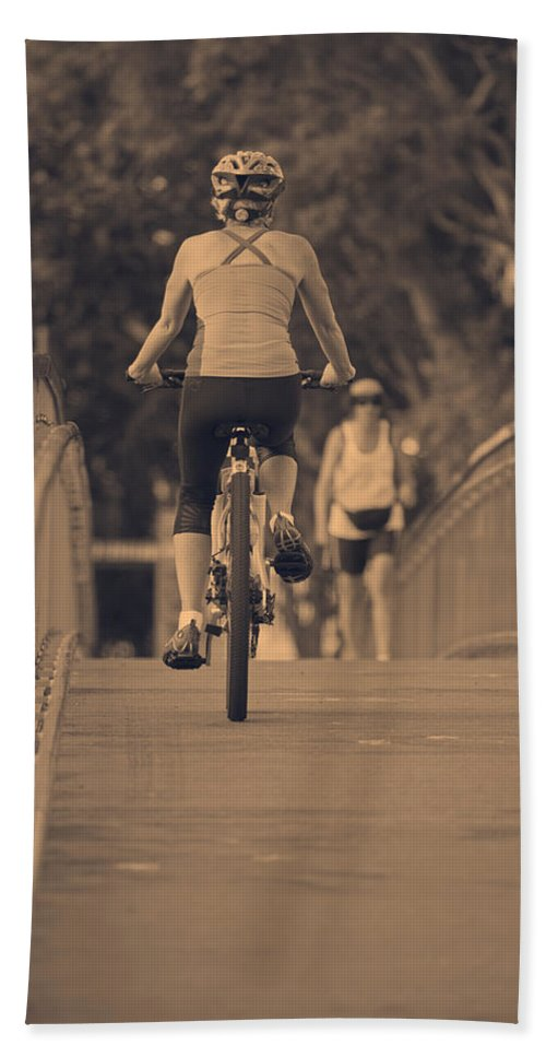 Exercise Beach Towel featuring the photograph Sunday Afternoon by Douglas Barnard