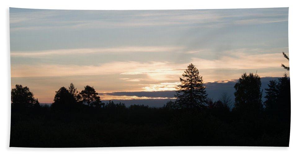Sunrise Beach Towel featuring the photograph Sunrise by Linda Kerkau