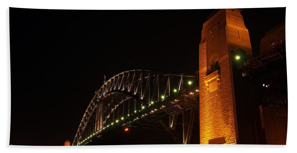 Sydney Beach Towel featuring the photograph Sydney Harbour Bridge by Kaleidoscopik Photography