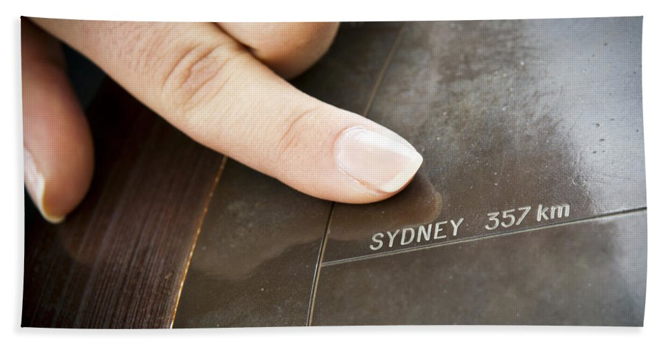 Sydney Beach Towel featuring the photograph Sydney by Tim Hester